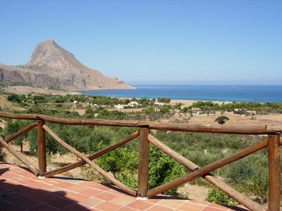Photo for Bed & Breakfast in a renovated sea view farmhouse near San Vito lo Capo