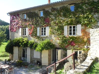 Photo for Charming farmhouse nestled in the unspoilt Corbieres
