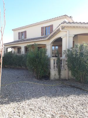 Photo for Beautiful, spacious home with view of Mt Ventoux in the heart of Provence