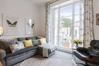 10 minute walk from Camden Town tube station, Camden Road station is closer