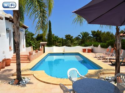 Photo for Holiday home in Javea 4p pool 10x5, pets allowed beach 6,5km