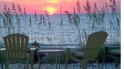 Photo for Beachfront Cottage -Ground Floor, Family Friendly! Great location. Free wi-fi