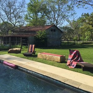 Photo for Dragonfly Ranch- 3 Bdrm Farmhouse on 5 Acres with new pool