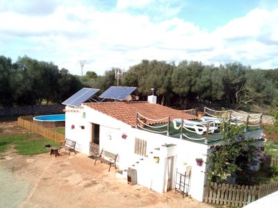 Photo for The house of 'Sa Mitjera' - independent, Wi-Fi, parking, swimming pool, barbecue