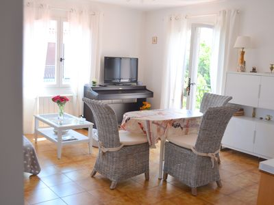 Photo for 3 bedroom apartment 56m2 in Fréjus in a villa 5 minutes from the sea and shops