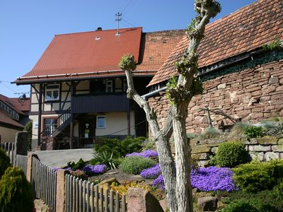 Photo for Old wheelwright, Grade II listed cottage in the Black Forest Nature Park Central / North