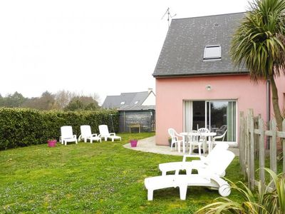 Photo for Semi-detached house, Portbail  in Manche - 4 persons, 2 bedrooms