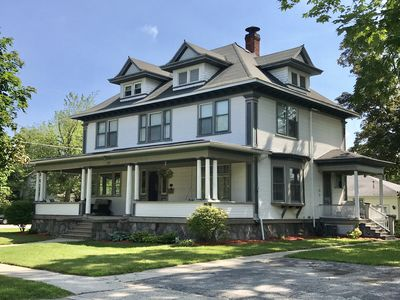 Historic home located just 10 minutes from the beaches of Lake Michigan