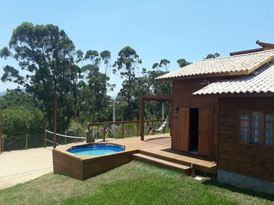 Photo for House in Praia do Rosa with Beach Tennis Court