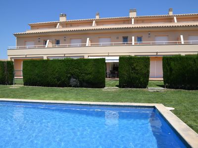 Photo for AGARÓ,CLOSE TO SANT POL BEACH. SHARED POOL AND PAKING