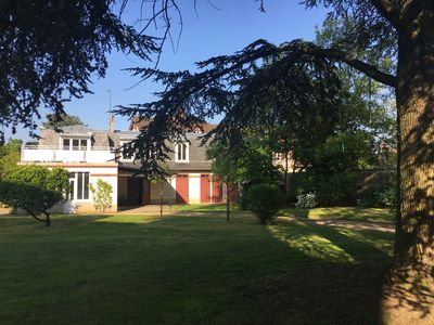 Photo for Cottage in a beautiful property in Compiegne, near forest and downtown