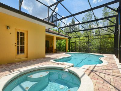 Photo for GREAT LOCATION, POOL TABLE, VERY PRIVATE POOL & SPA, BBQ GRILL, FREE WIFI !!