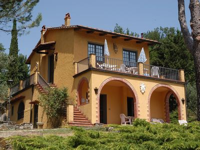 Photo for Nice Apartment ideal for families or group of friends with pool -Chianti Terreno