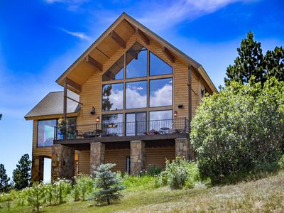 Photo for HIKE - BIKE - HUNT - FISH - SPACIOUS CABIN WITH AWESOME VIEWS