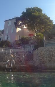 Photo for Villa Andrea, house directly on the sea, private beach, boat landing