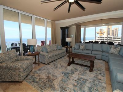 Photo for Mediterranean West 702 - Newly Listed Beach Front with Amazing Views!