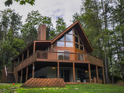 Photo for Centrally located chalet within minutes from lake activities & Wisp Resort!