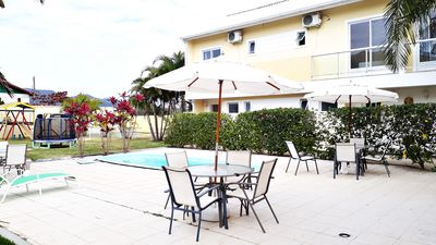 Photo for Residential with pool and barbecue. Suitable for 2 to 5 people!