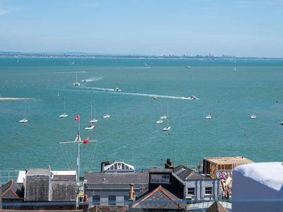 Photo for Stunning Holiday Home sleeps 10. In Prime Location Overlooking the sea in Cowes.