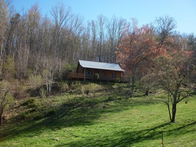 Photo for Cozy Cabin next to Cherokee and Smoky Nat'l Park