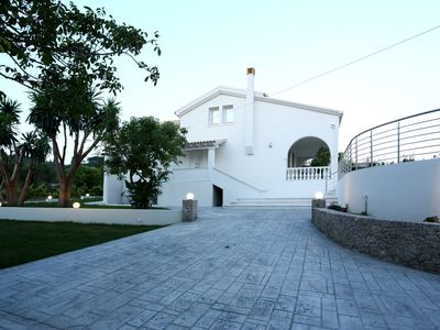 Photo for Spacious Modern close to Arillas Beach with Private Pool