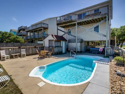 Photo for Six Pack | 1169 ft from the beach | Dog Friendly, Private Pool, Hot Tub