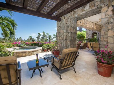Photo for Deluxe 3 BR Villa w/ Private Pool, WiFi, Jacuzzi, Spa Services & Tennis Courts
