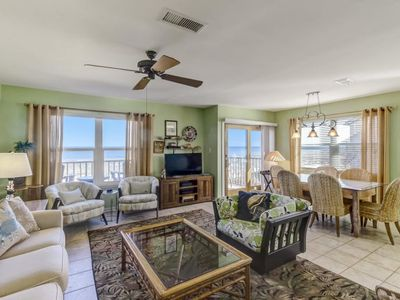 Photo for Sunrises and Views Galore in This Beautiful Updated Oceanfront Townhome!