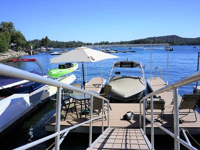 Rare Private Single Slip Dock! Kayaks, umbrella, EZ up (in summer),  etc..