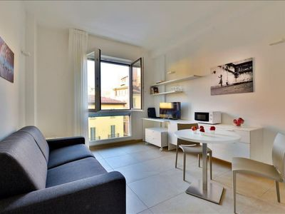 Photo for Galleria del Toro apartment in Bologna with integrated air conditioning & lift.