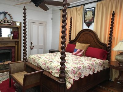 Photo for Liberty Guest Room with private hall bath.