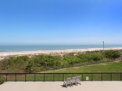 Photo for Oceanfront Sea Colony 2BR + Den. Beach, Pools and Tennis.