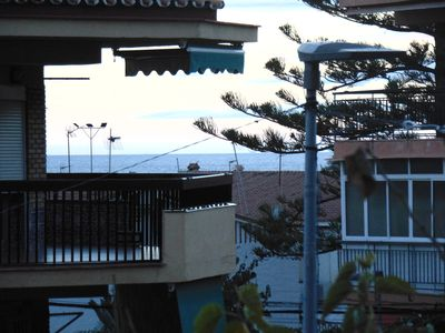 Photo for Studio in LA CALA DEL MORAL with terrace next to the beach and center