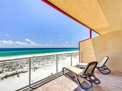 Photo for Spacious Gulf Front Townhome with amazing gulf views!