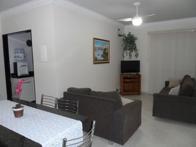 Photo for 2 bedroom apartment with excellent accommodation 100 m from the beach.