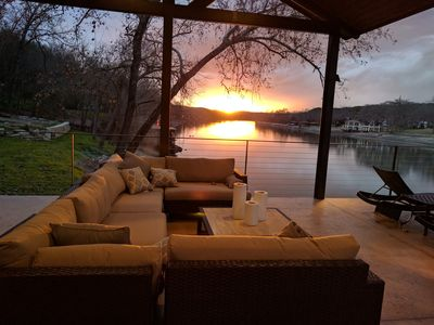 Photo for Serene Waterfront Lake Austin House, Stunning Views & Spectacular Boat Dock