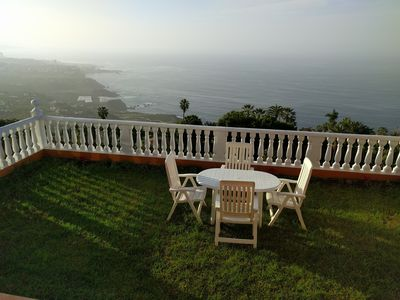 Photo for Villa with wonderful views 10 min from Puerto de la Cruz WIFI and satellite TV