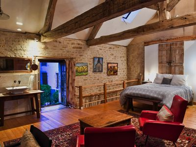 Photo for Romantic Home in Medieval Village Where 'Chocolat' was Filmed