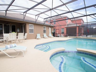 Photo for 4 BEDROOMS - 2 SUITES - 8 GUESTS- CLOSE DISNEY
