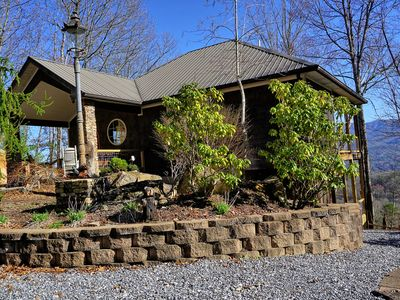 Photo for Beautiful Mountain View! Hot Tub! Minutes from Downtown Bryson City.