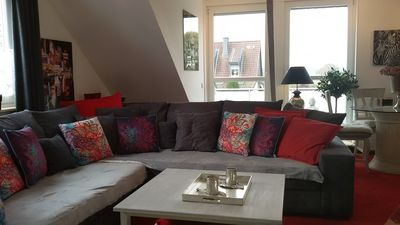 Photo for TOP equipped apartment for 2-4 people, rural, 20min to Dusseldorf