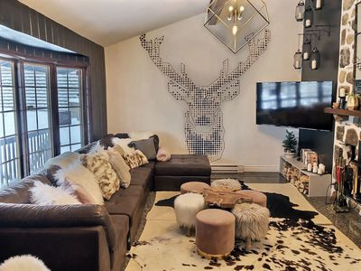 Photo for Chalet des Laurentides - Luxury chalet in the mountains