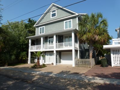 Photo for Best Reviewed Beach House With Private Boatslip and Pier-Short Walk To Beach!