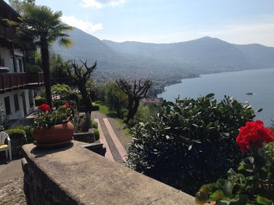 Photo for 1BR Apartment Vacation Rental in Sale Marasino, Lombardia