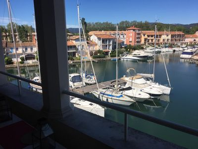 Photo for Apartment in Port Grimaud, lake city of the Gulf of Saint Tropez