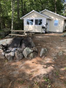 Photo for Sebago Lake Waterfront Cabin