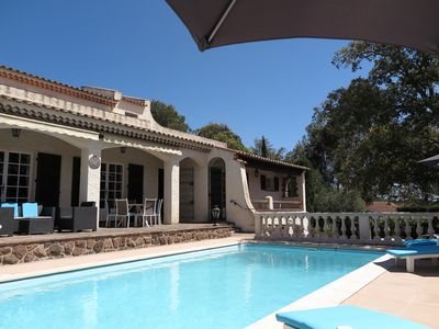 Photo for Villa with pool up to 9 people in FREJUS - SAINT RAPHAEL - COTE D'AZUR