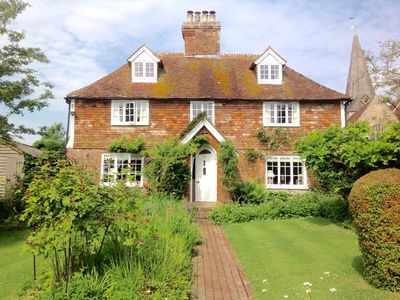 Photo for Listed 17th Century Cottage in Pretty Kentish Village Near Tenterden