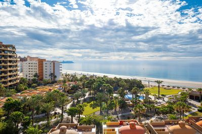 panoramic views from our balcony!