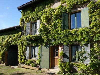 Photo for Large family, charm and character in the countryside, near Lyon